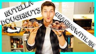 getlinkyoutube.com-NUTELLA DONUTS - #BAKINGWITHJIM