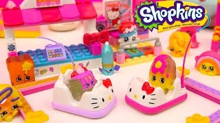 getlinkyoutube.com-Shopkins Season 4 Play Video - Bumper Cars Date - Toy Series Part 4 Cookieswirlc
