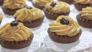 getlinkyoutube.com-طورطات صغار ب مداق القهوة و الشكلاط تحلية بسيطة و لذيذة Mini tartelettes