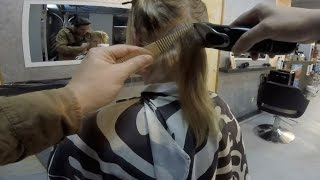 getlinkyoutube.com-Ilona (Impression Of A Haircut) Ilona's haarschnitt