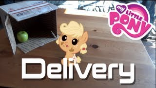 getlinkyoutube.com-An Apple Family Delivery | My Little Pony In Real Life Short Film