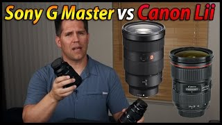 getlinkyoutube.com-24 - 70 2.8 Sony G Master vs Adapted 24-70 2.8 Canon Lii Comparison