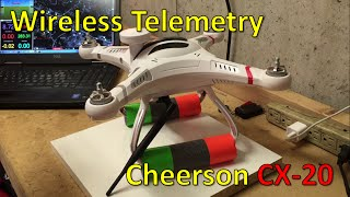 getlinkyoutube.com-Wireless telemetry for the Cheerson CX-20