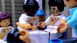 LEGO Alien Chestburster scene