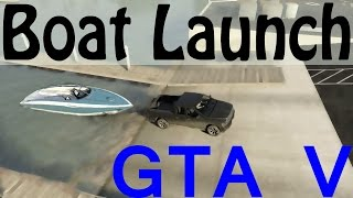 getlinkyoutube.com-GTA 5 Boat Launch