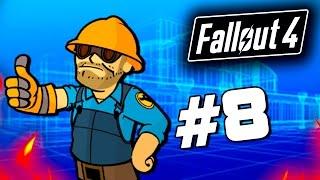 getlinkyoutube.com-Fallout 4 - СТРОИТЕЛЬСТВО БАЗЫ! - Строим дом для выживших! (60 Fps) #8