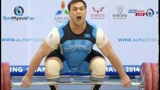 getlinkyoutube.com-Тяжелая атлетика. Чемпионат Мира. Мужчины до 105 кг. 15.11.2014 год