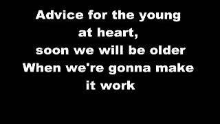 getlinkyoutube.com-Tears For Fears - Advice For The Young At Heart Lyrics