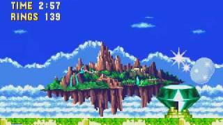 getlinkyoutube.com-Super Sonic vs Super Metal Sonic (Sonic 3 & Knuckles Impossible Duel)