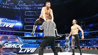 Sami Zayn vs. Aiden English: SmackDown LIVE, Aug. 29, 2017