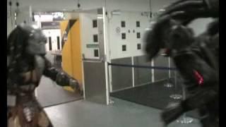 Alien Vs Predator - Real life Fight Scene