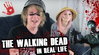 getlinkyoutube.com-The Walking Dead In Real Life