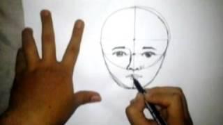 cara PALING MUDAH menggambar wajah untuk pemula