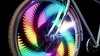 getlinkyoutube.com-MonkeyLectric -  Bike Wheel Lights