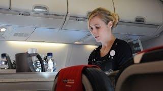 getlinkyoutube.com-Hilarious Flight Attendant Makes Air Travel Tolerable