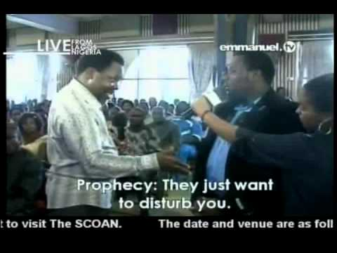 TB Joshua Prayer & Prophecy 12-05-2013