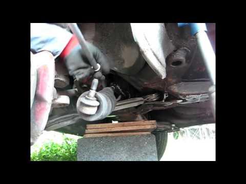 VW Golf 2 Замена рулевой тяги