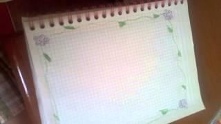 getlinkyoutube.com-Margenes para los cuadernos♡♥♥