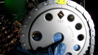 getlinkyoutube.com-GM 2.2L Ecotec timing chain replacement '03 Cavalier part 4: Installing a new chain kit