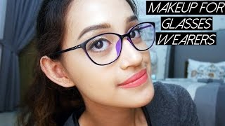 getlinkyoutube.com-Makeup for Glasses Wearers | Nadya Aqilla