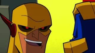 getlinkyoutube.com-Flash Family & Flash Powered Batman vs Professor Zoom