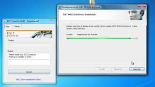 getlinkyoutube.com-INSTALAR Y DEJAR FULL ESET NOD32 ANTIVIRUS V5 32 & 64 Bits