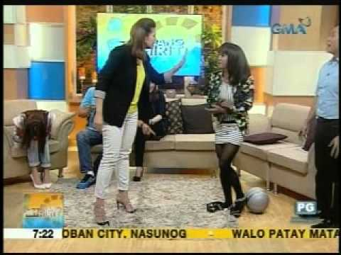 UH 'Flashbackting' Birthday Challenge with Rhea Santos | Unang Hirit