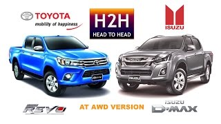 getlinkyoutube.com-Head2Head #73 Toyota Hilux vs Isuzu Dmax