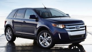 getlinkyoutube.com-2013 Ford Edge Limited Start Up and Review 3.5 L V6