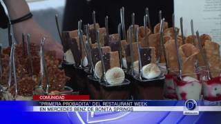 En Mercedes Benz de Bonita Springs inició la semana de los restaurantes