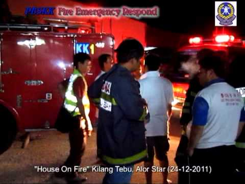 1j House On Fire, Kilang Tebu, Alor Star 24 12 2011 2330hrs