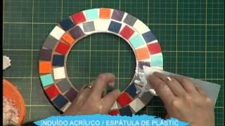 getlinkyoutube.com-Espejo con falso Mosaico 2da parte
