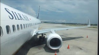 getlinkyoutube.com-[Boarding] SilkAir Boeing 737-800NG 9V-MGG CHARTERED MI8172 at Singapore Changi Airport