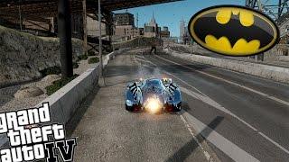 getlinkyoutube.com-GTA 4 Batman Mod vs Bane Mod - Batman Saves Liberty City From Bane!