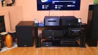getlinkyoutube.com-Denon AVR - X7200WA Receiver, Martin Logan Motion 60XT Tower Speakers