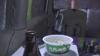 getlinkyoutube.com-激寒の雪中車中泊で、行く年来る年&ご来光1@山梨県甲州市