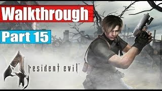 getlinkyoutube.com-Resident Evil 4 Ultimate HD Edition Walkthrough Part 15 - Chapter 4 - 4 No Commentary PC