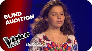 getlinkyoutube.com-Andrea Bocelli  - Time To Say Goodbye (Solomia) | The Voice Kids 2015 | Blind Auditions | SAT.1