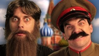 getlinkyoutube.com-Rasputin vs Stalin.  Epic Rap Battles of History Season 2 finale.