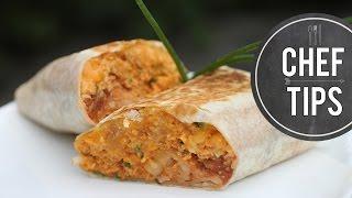 Grilled Breakfast Burritos Recipe