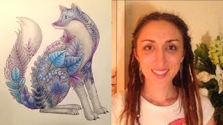 getlinkyoutube.com-How to colour in with pencils. Crisanne's Colouring Class for Adults - Episode 1
