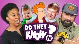getlinkyoutube.com-DO PARENTS KNOW MEMES? (REACT: Do They Know It?)