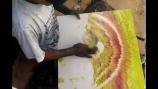 getlinkyoutube.com-طفل شوارع يرسم لوحة فنية بيديه لن تصدق ما ستراه بعينك !!