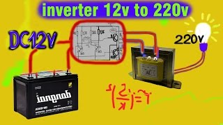 getlinkyoutube.com-how to dc power inverter 12v battery to 220v