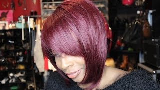 "getlinkyoutube.com-Freetress Equal ""ABREE"" Wig (color 530) IT'S GAWJUSSSS!!!!"