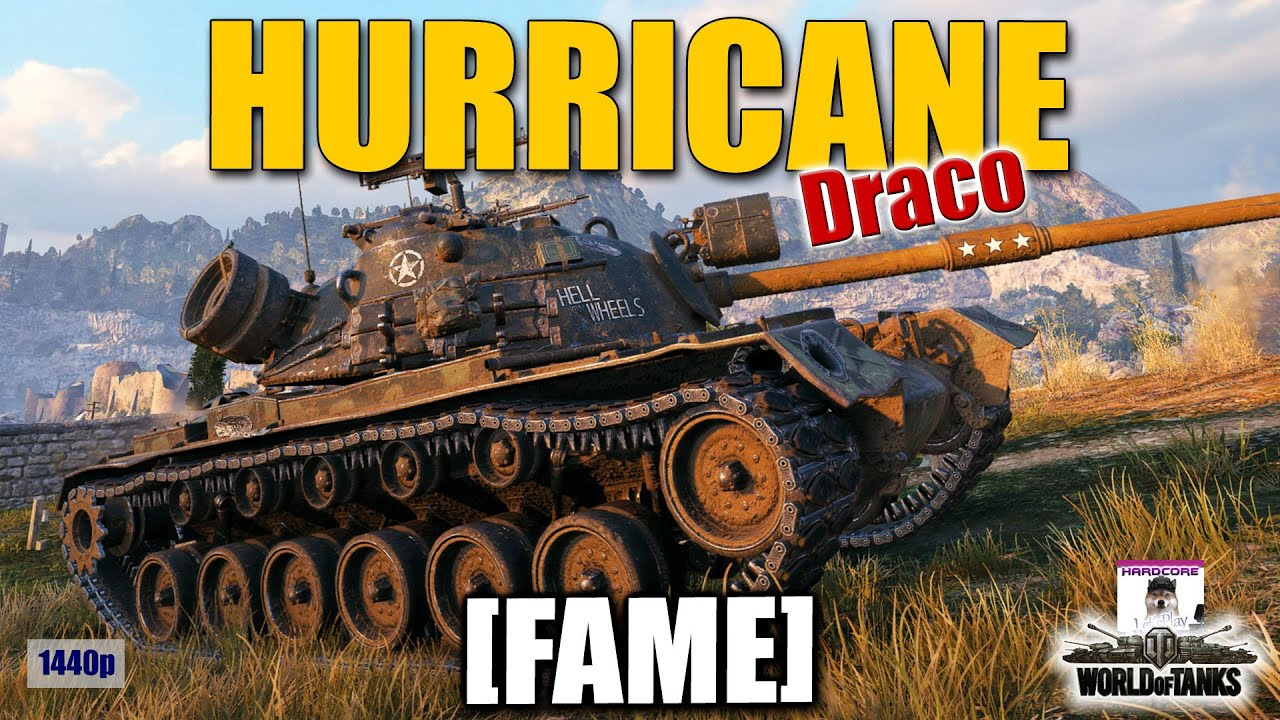 M48A5 Patton  FAME   Like a Hurricane  best World of Tanks games