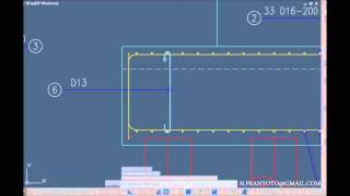 getlinkyoutube.com-AutoCAD Structural Detailing Pile Cap Reinforcement