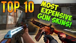 getlinkyoutube.com-CS GO - Top 10 Most Expensive GUN Skins!