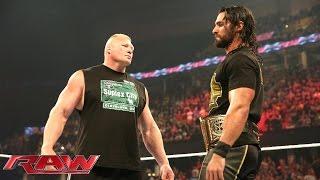 getlinkyoutube.com-Brock Lesnar is revealed as Seth Rollins' next challenger: Raw, June 15, 2015