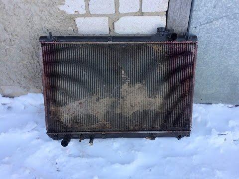 Замена радиатора охлаждения и масла АКПП на lexus rx300 2002